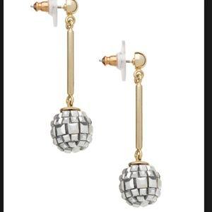 kate spade disco fever drop earrings nwt see pics